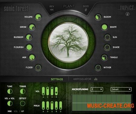 Impact Soundworks - Sonic Forest (KONTAKT) - библиотека ударных