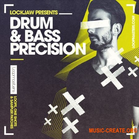 Loopmasters - Lockjaw - Drum and Bass Precision (MULTiFORMAT) - сэмплы Drum and Bass