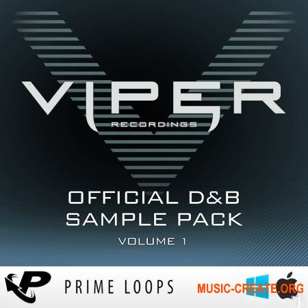 Prime Loops - Viper Official D&B Volume 1 (Multiformat) - сэмплы Drum & Bass
