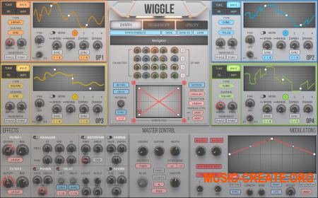 2nd Sense Audio - Wiggle v1.1.1 WiN / OSX (Team R2R) - синтезатор