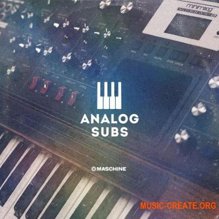 The Drum Sample - Broker - Analog Subs Vol. 1 (WAV) - сэмплы басов синтезаторов