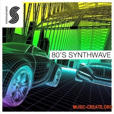 Samplephonics - 80's Synthwave (MULTiFORMAT) - сэмплы синтезаторов 80-х