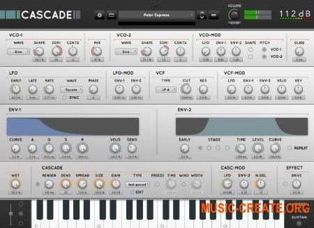 112dB - Cascade v1.0.1 (Team R2R) - синтезатор