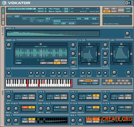 Native Instruments - Vokator v1.2.0 INTERNAL (Team R2R) - эффект вокодер