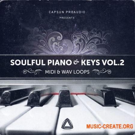 CAPSUN ProAudio - Soulful Piano and Keys Vol 2 (WAV MiDi) - сэмплы пианино