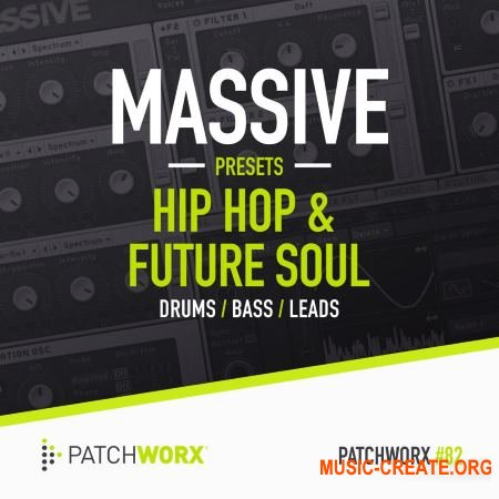 Patchworx - Hip Hop and Future Soul - Massive Presets (WAV MiDi Ni Massive) - сэмплы Hip Hop