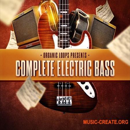 Organic Loops - Complete Electric Bass (WAV REX AiFF) - сэмплы электрической гитары