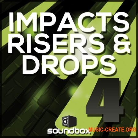 Soundbox - Impacts, Risers and Drops 4 (WAV) - звуковые эффекты