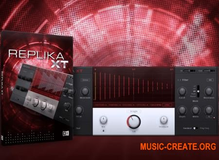 Native Instruments - Replika XT v1.0.3 (Team R2R) - плагин дэлей