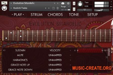 Orange Tree Samples - Evolution Sitardelic (KONTAKT) - библиотека электрической ситары