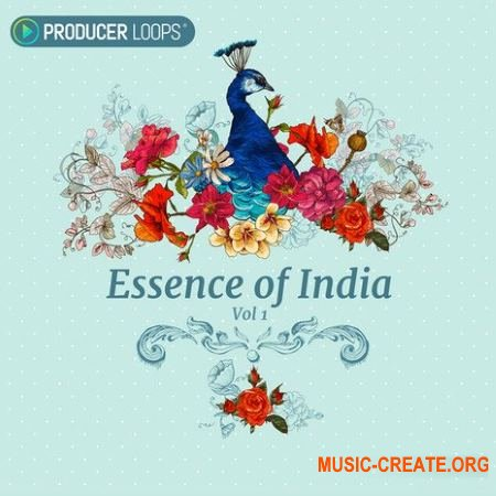 Producer Loops - Essence of India Vol.1 (ACiD WAV) - звуки индийской музыки