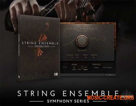 Native Instruments - Symphony Essentials String Ensemble (KONTAKT) - библиотека оркестровых струнных инструментов