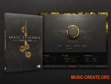 Native Instruments - Symphony Essentials Brass Ensemble (KONTAKT) - библиотека оркестровых медных инструментов