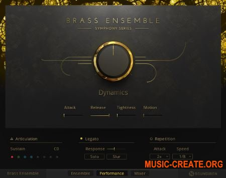 Native Instruments - Symphony Essentials Brass Solo (KONTAKT) - библиотека оркестровых медных инструментов