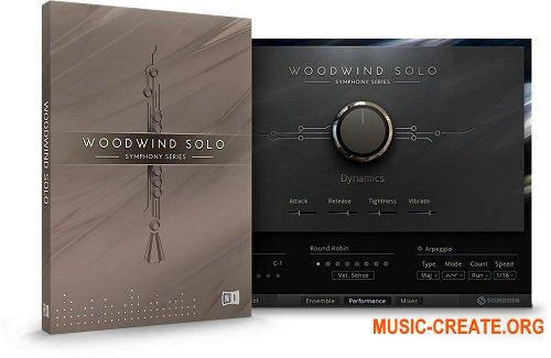 Native Instruments - Symphony Essentials Woodwind Solo (KONTAKT) - библиотека оркестровых духовых инструментов