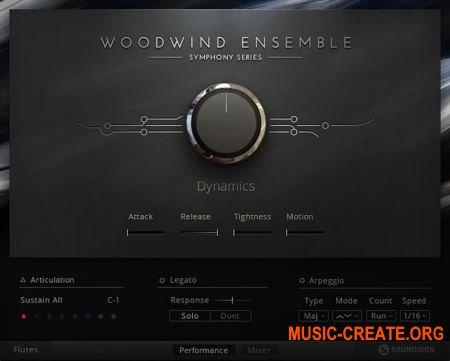 Native Instruments - Symphony Essentials Woodwind Ensemble (KONTAKT) - библиотека оркестровых духовых инструментов
