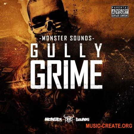 Monster Sounds - Gully Grime (MULTiFORMAT) - сэмплы Grime, 2-Step, Garage