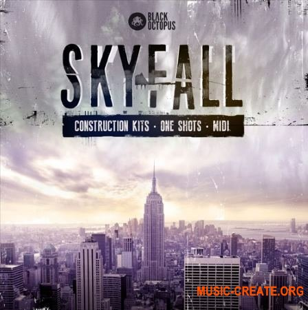 Black Octopus Sound - Skyfall (WAV MiDi) - сэмплы Hip-Hop, Trap