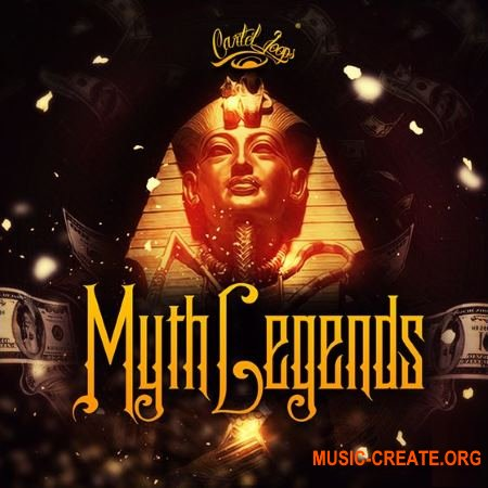 Cartel Loops - Myth Legends (WAV MiDi) - сэмплы Hip Hop, Trap, Dirty South