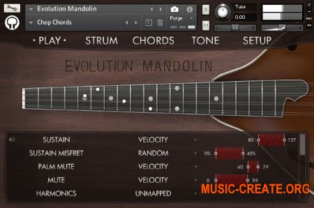 Orange Tree Samples - Evolution Mandolin (KONTAKT) - библиотека мандолины
