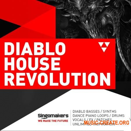 Singomakers - Diablo House Revolution (MULTiFORMAT) - сэмплы House