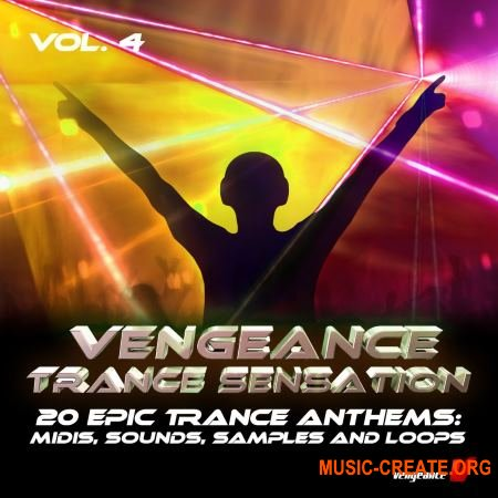 Vengeance - Trance Sensation Vol.4 (WAV) - сэмплы Trance