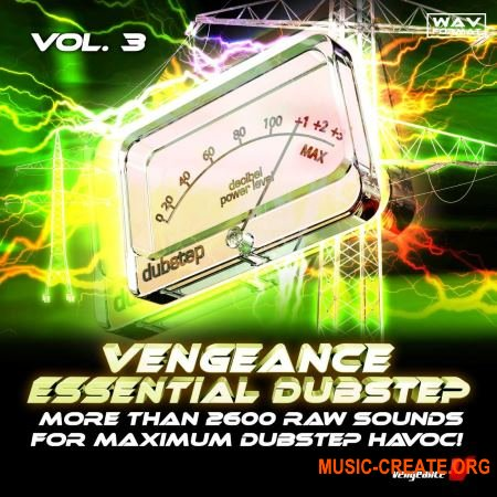 Vengeance - Essential Dubstep Vol.3 (WAV) - сэмплы Dubstep
