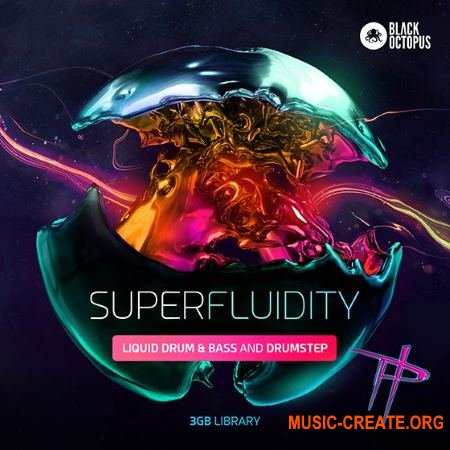 Black Octopus Superfluidity (WAV) - сэмплы Drum & Bass, Drumstep