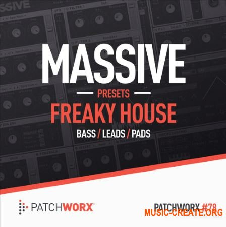 Patchworx - Freaky House (Massive presets)