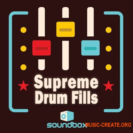 Soundbox - Supreme Drum Fills (WAV) - сэмплы ударных