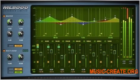 McDSP - ML8000 Advanced Limiter v6.3.0.5 WIN (Team AudioUTOPiA) - плагин лимитер