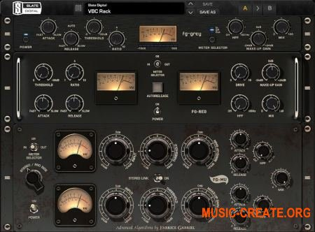 Slate Digital - Virtual Buss Compressors v1.2.9.1 WIN (Team AudioUTOPiA) - плагины компрессоры