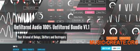 Plugin Alliance - Unfiltered Audio 100 Bundle v1.1.0 WiN-OSX (Team R2R) - сборка плагинов