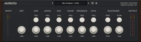 Audiority - Harmonic Maximizer v1.0.0 WIN OSX (Team R2R) - плагин максимайзер
