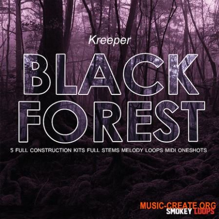 Smokey Loops - Black Forest (WAV MiDi) - сэмплы Trap