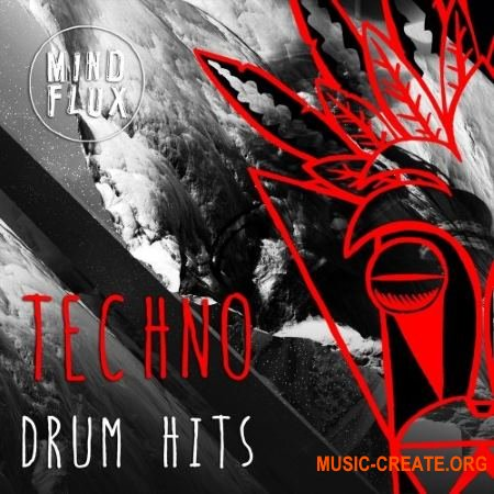 Mind Flux - Techno Drum Hits (WAV) - сэмплы Techno