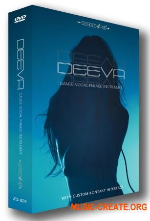 Zero-G - DEEVA Dance Vocal Phrase Instrument (KONTAKT) - библиотека вокала