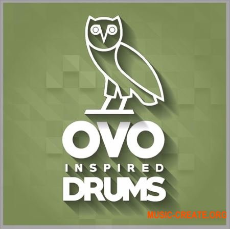 Red Sounds - OVO Inspired Drums (WAV) - сэмплы ударных