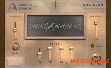 Auburn Sounds - Graillon v1.2.0 Win / Mac (0TH3Rside) - плагин октавер вокала