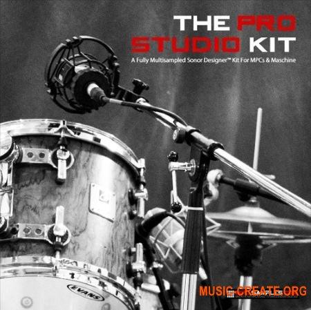 MPC-Samples - Pro Studio Drum Kit (MULTiFORMAT) - сэмплы ударных