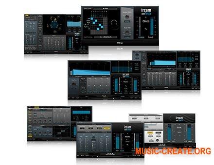 Flux Ircam Tools 1.1 v3.5.29 x86 x64 (Team R2R) - сборка аудио процессоров