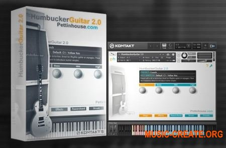 Pettinhouse HumbuckerGuitar 2.0 (KONTAKT) REPACK - библиотека звуков электрогитары