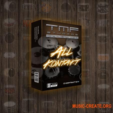 The Metal Factory Drums Bundle (KONTAKT) - библиотека звуков ударных