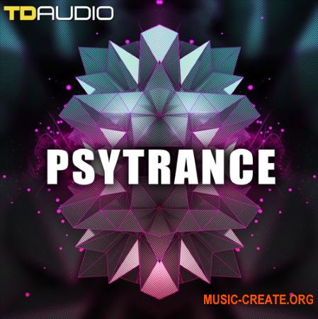 Industrial Strength TD Audio Psytrance (WAV MiDi) - сэмплы Psytrance, Trance