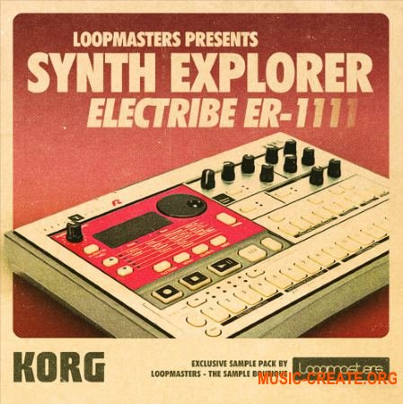 Loopmasters Synth Explorer ER1 (MULTiFORMAT) - сэмплы синтезатора