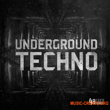 48Khz Underground Techno (WAV) - сэмплы Techno, Tech House