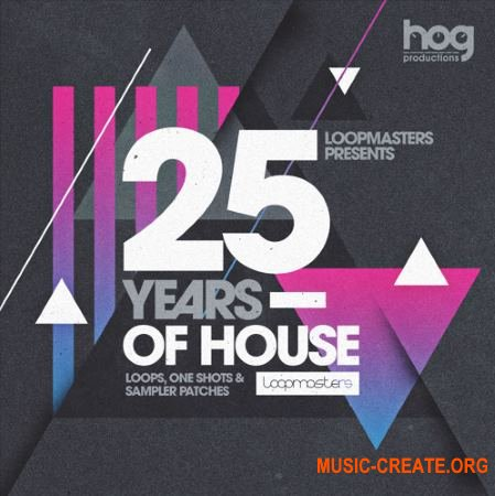 Loopmasters Gianni Bini Presents 25 Years Of House (MULTiFORMAT) - сэмплы House