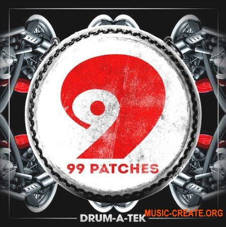 99 Patches Drum A Tek (WAV) - сэмплы House, Tech House