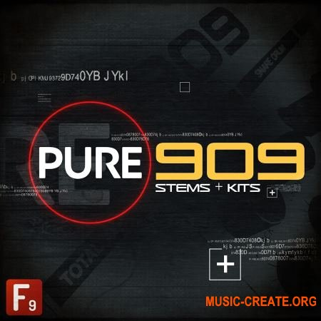 F9 Audio PURE 909 Stems and Kits (MULTiFORMAT) - драм сэмплы