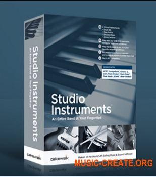 Cakewalk Studio Instruments Suite v1.0.0.12 (Team R2R) - сборка музыкальных инструментов